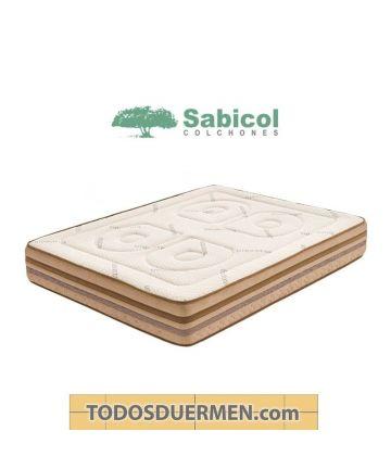 Colchón Nube Viscoelástico Ecológico Reforzado Sabicol TodosDuermen.com