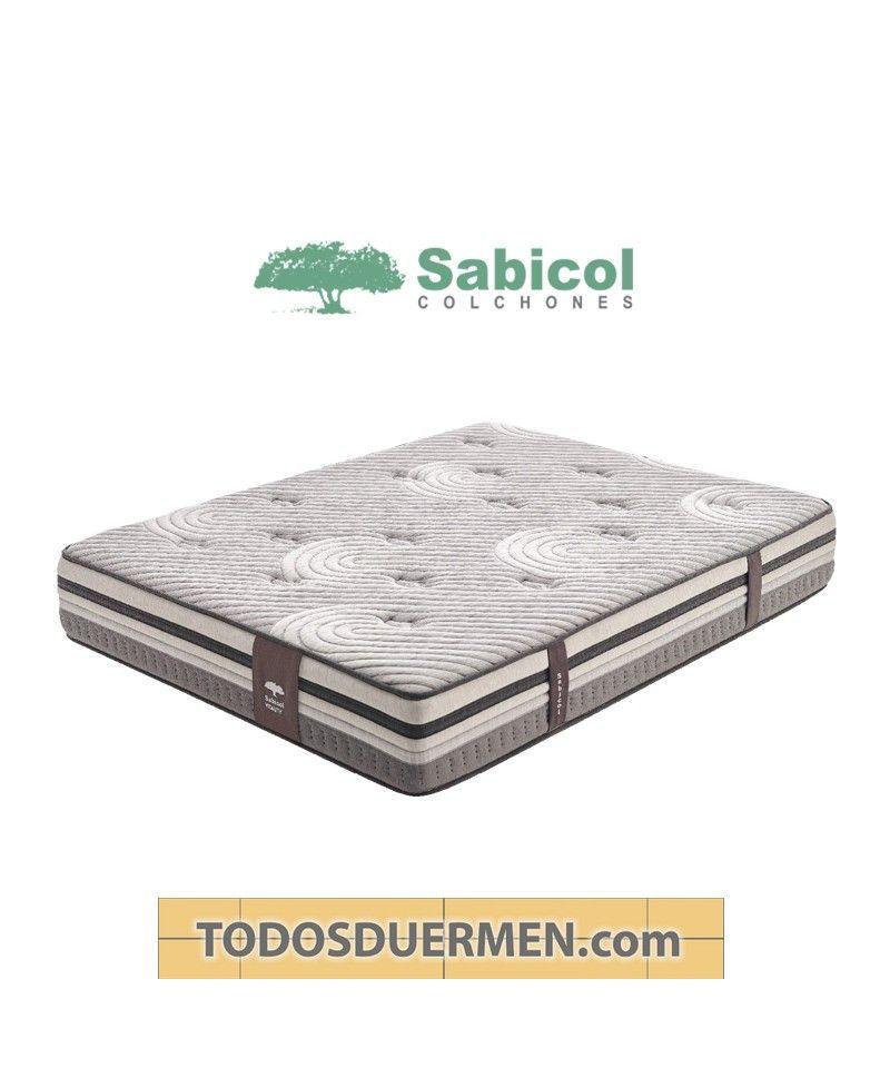 Colchón Ecológico Visco Vitality Micromuelles Visco SensiFoam Sabicol TodosDuermen.com