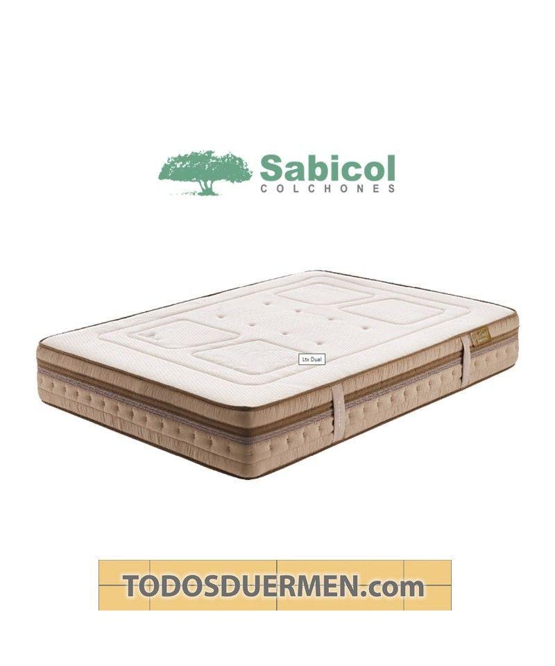 Colchón LtxDual Látex Natural Sabicol TodosDuermen.com