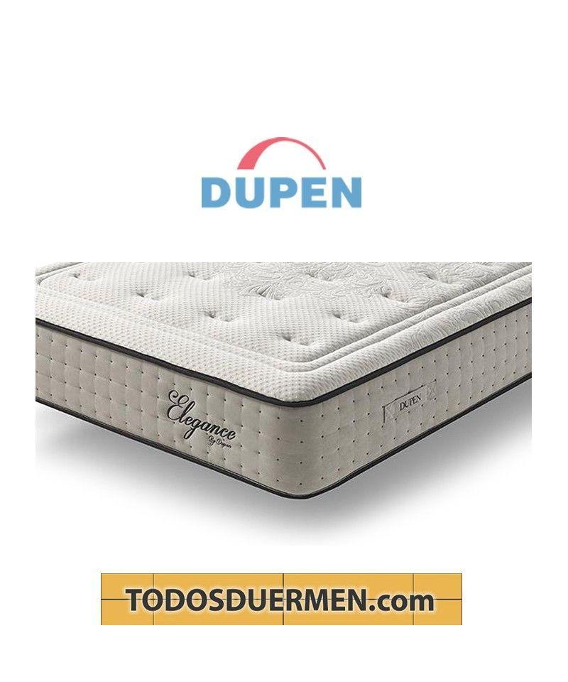 Colchón Elegance Máximo Confort Topper Viscoelástica Dupen TodosDuermen.com