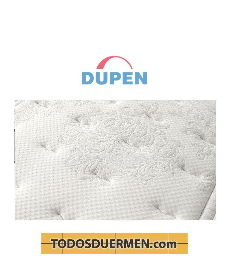 Colchón Confort Topper Viscoelástica Elegance Máximo  Dupen TodosDuermen.com