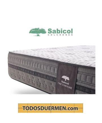 Colchón NeroMousse Visco SensiFoam Neropur Ref Lateral Antibacteriano Antiácaros Sabicol TodosDuermen.Com