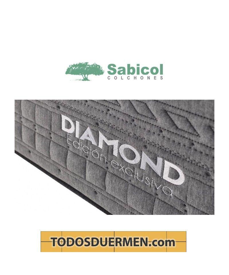 Colchón Muelles Ensacados Viscoelástico Diamond Sabicol TodosDuermen.com Todas las medidas
