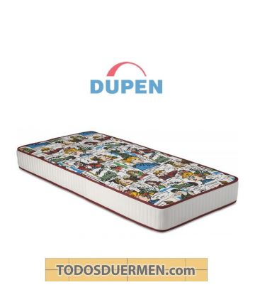 Colchón Visco Comic Dupen
