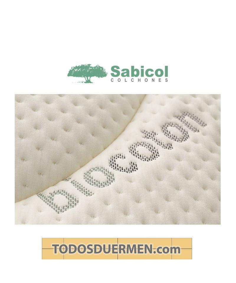 Colchón Lobide Doble Cara Reforzado Biocoton Antibacteriano Antiácaros Sabicol