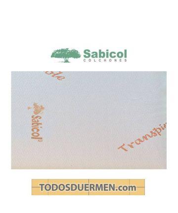 Almohada Viscoelástica Transpirable Sabicol TodosDuermen