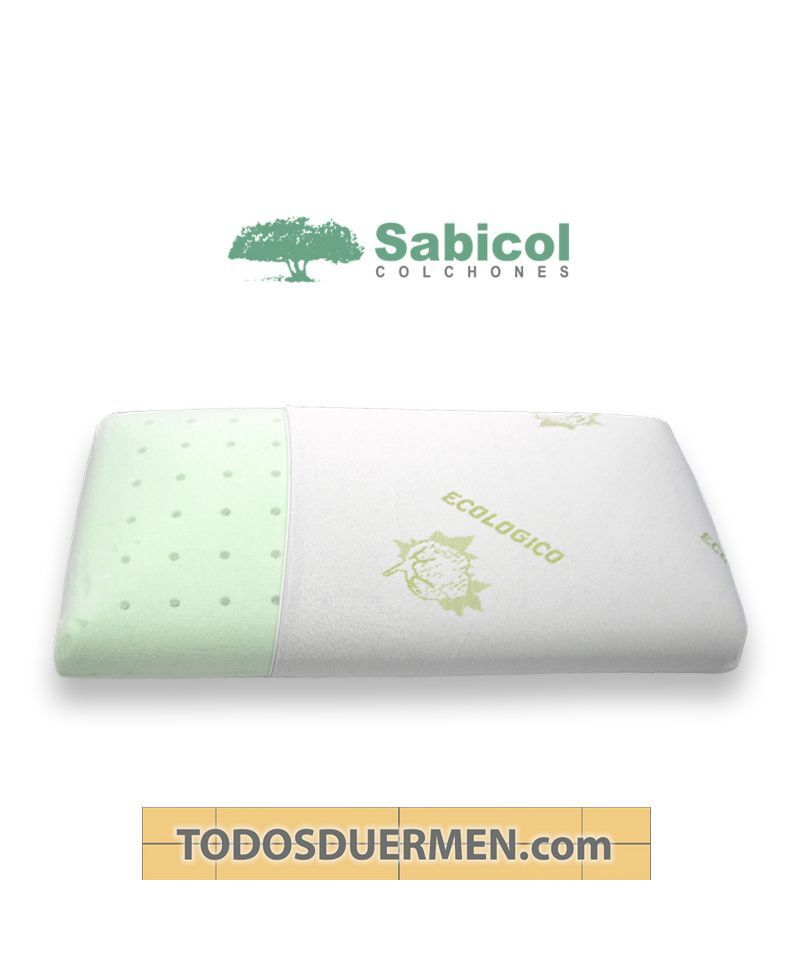 Almohada Viscoelástica Ecoperforada Sabicol TodosDuermen.com