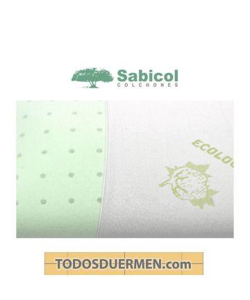 Almohada Viscoelástica Ecológica Ecoperforada Sabicol TodosDuermen.com