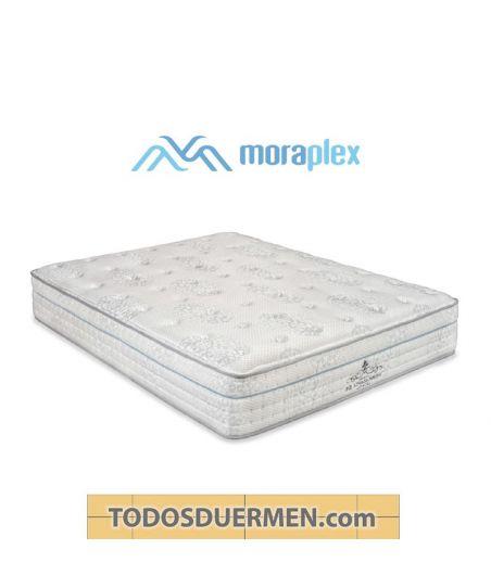 Colchón Thermoadapta S6 Premium Núcleo Transpiral Titanium 85kg Antiviral Antibacterial Moraplex TodosDuermen