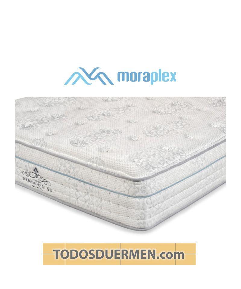 Colchón Thermoadapta S6 Premium Núcleo Transpiral Titanium 85kgl Moraplex TodosDuermen