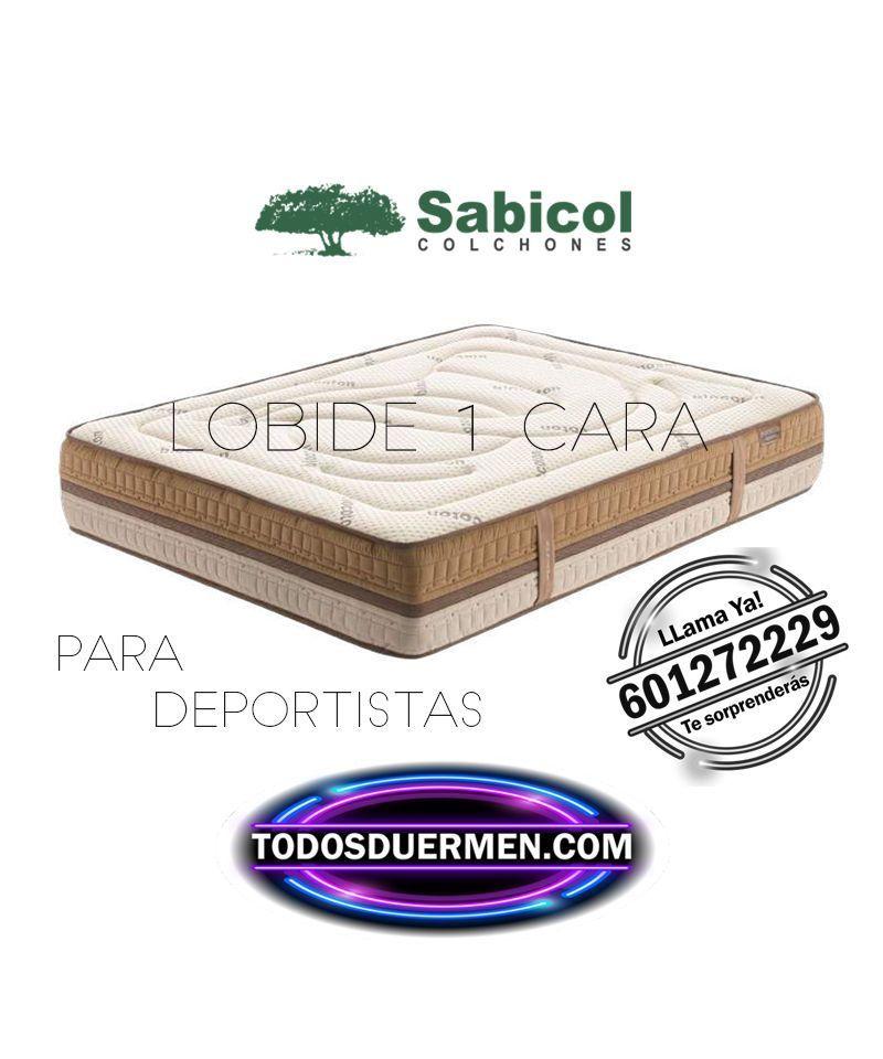 Colchón Lobide Deportistas Sabicol TodosDuermen.com