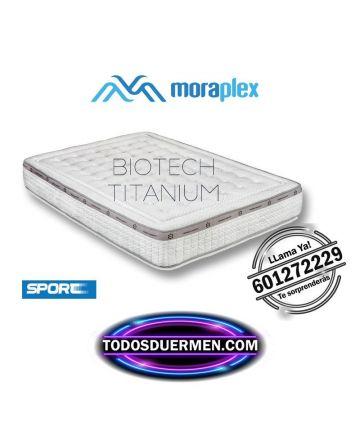 Colchón Para Deportistas Biotech Titanium Máximo Confort