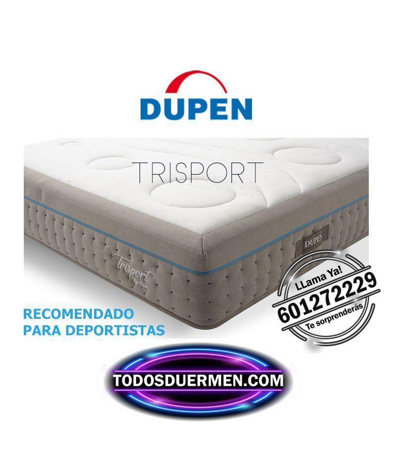 Colchón Trisport Nueva Tecnología 2021-  Envíos Gratis-Dupen -Todos Duermen.com