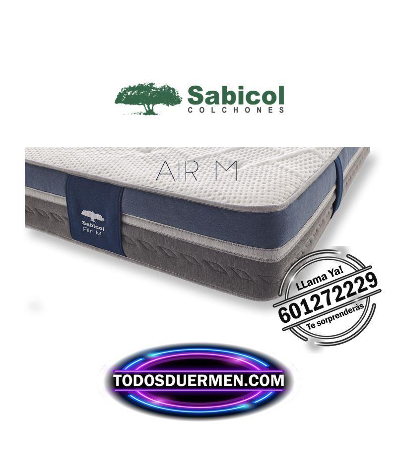 Colchón Air M ViscoWhite SensiFoam Greenfoam Air Antibacteriano Antiácaros Sabicol TodosDuermen.com