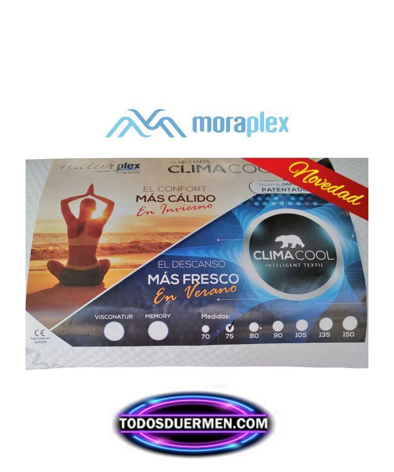 Almohada Viscoelástica ClimaCool NaturPlex Moraplex TodosDuermen.com