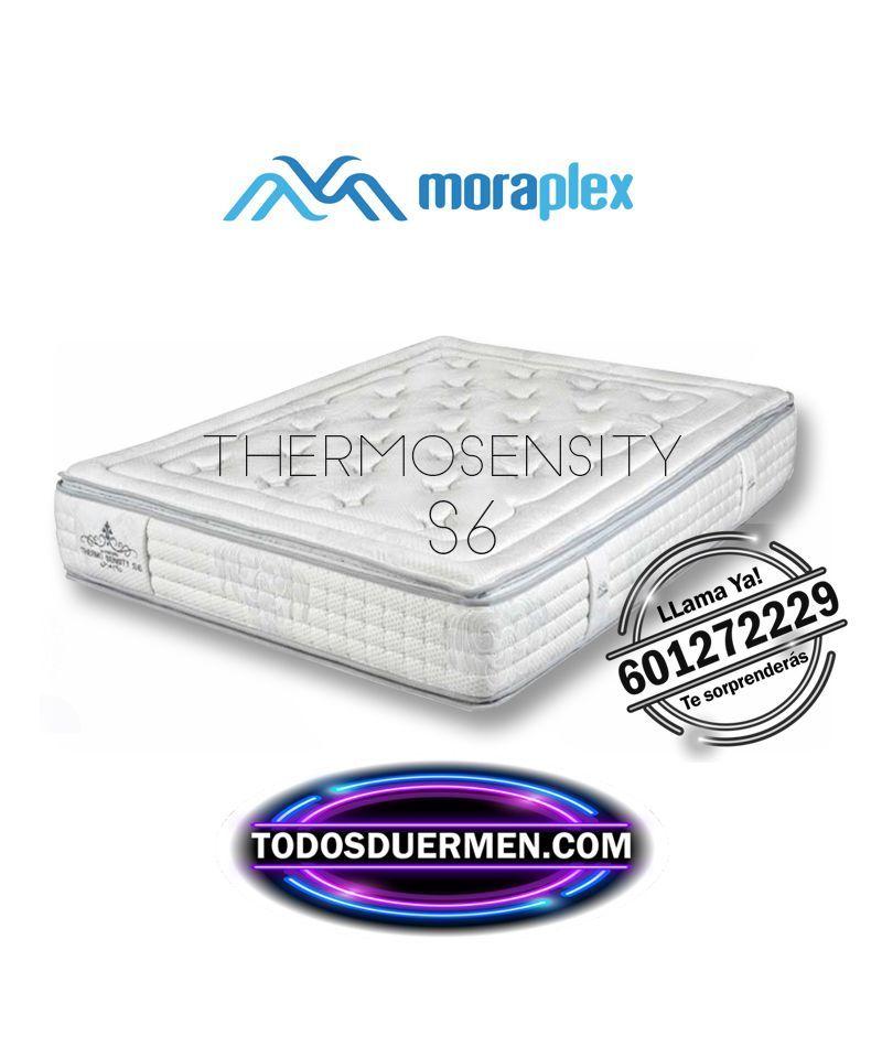Colchón Thermosensity S6 Premium Núcleo Transp Titanium Moraplex TodosDuermen.com