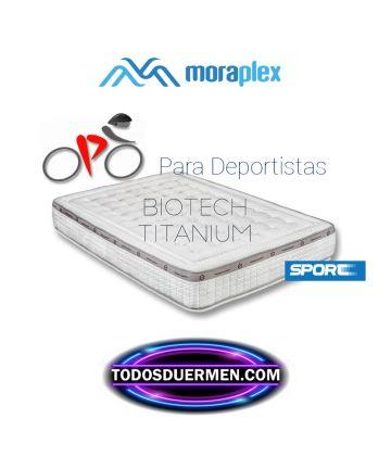 Colchón Viscoelástico Biotech Titanium para deportistas  Moraplex TodosDuermen.com