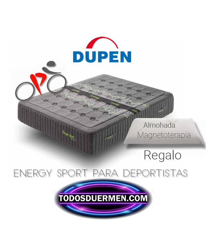 Colchón de Muelles Energy Sport para Deportistas Dupen TodosDuermen.com