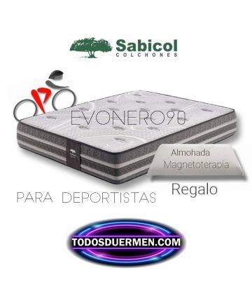 Colchón Viscoelástico EvoNero90 Sabicol Todosduermen.com