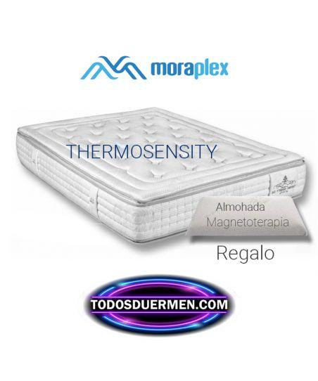 Colchón Viscoelástico Transpiral Titanium Thermosensity S6 Premium Con Almohada Moraplex TodosDuermen.com