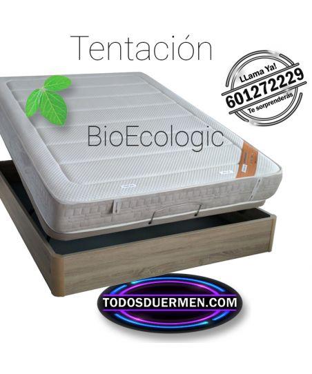 Colchón Viscoelástico Bio Ecologic Tentación Doble Firmeza TodosDuermen.Com