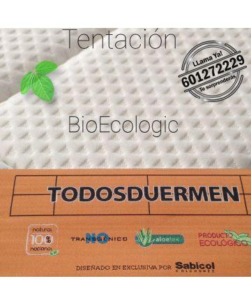 Colchón Viscoelástico Bio Ecologic Tentación Doble Firmeza Económico TodosDuermen.Com