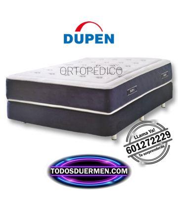 Colchón Ortopédico Muelles el Mejor al mejor precio Descanso Lumbar Dupen TodosDuermen.Com