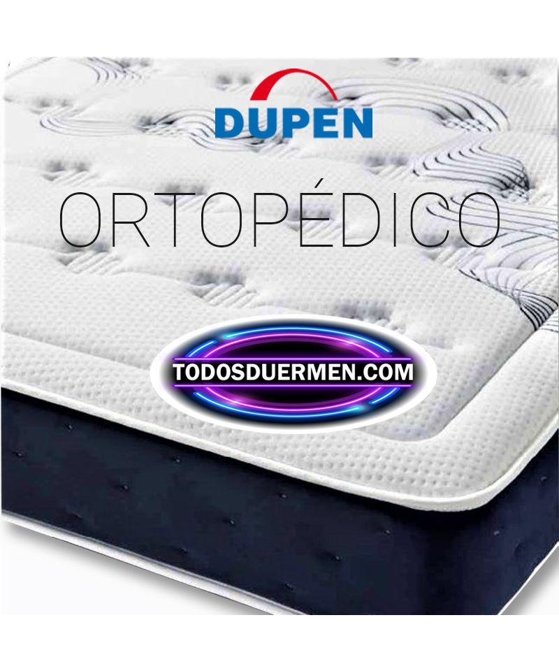 Colchón Ortopédico Muelles Descanso Lumbar Firmeza Media Alta Dupen TodosDuermen.Com