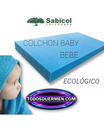 Colchón Para Bebes Baby Ecológico Antiasfixia Sabicol TodosDuermen.com