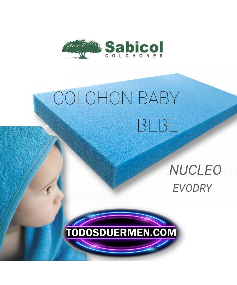 Colchón Cuna Bebe Antiasfixia Ecológico Sabicol Todosduermen.com