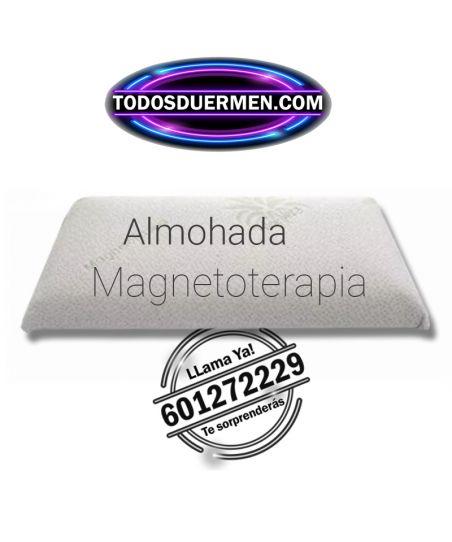 Almohada Viscoelástica MagnetoTerapía Aloe Vera TodosDuermen.com