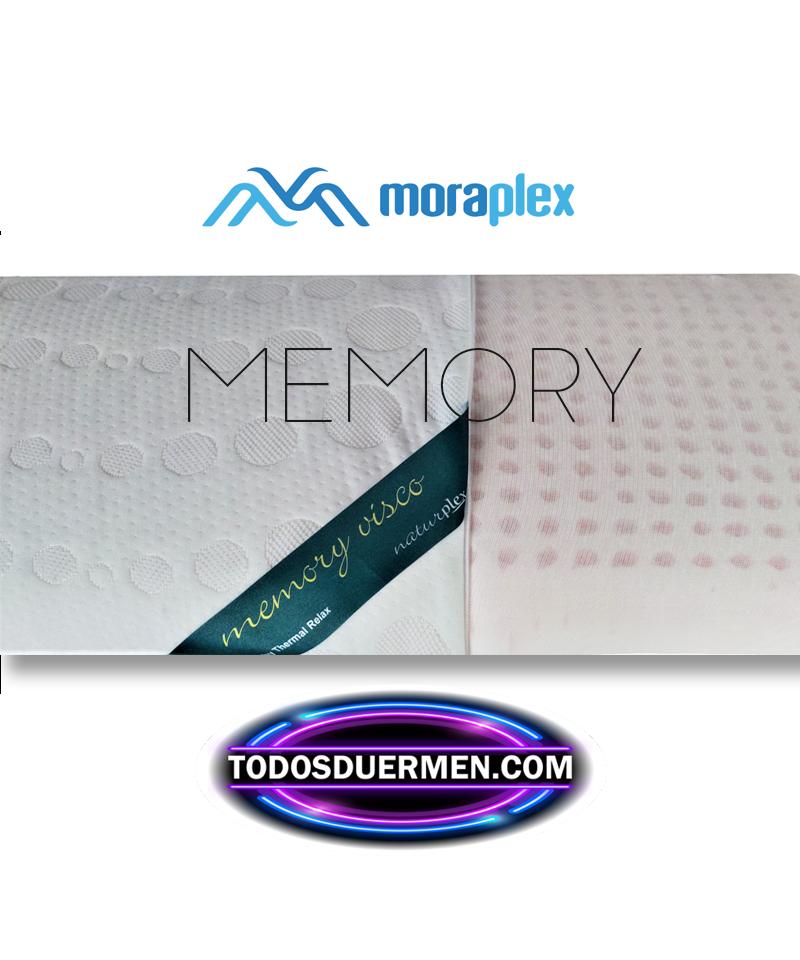 Almohada Viscoelástica Memory Cervical Moraplex TodosDuermen.com