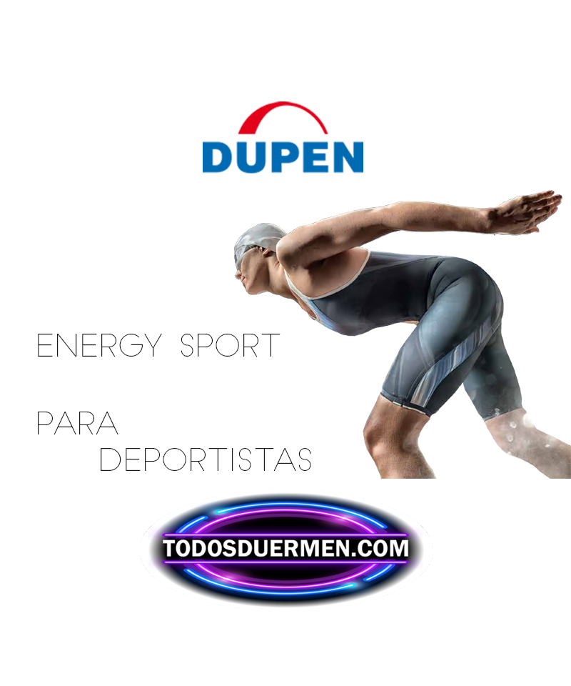 Colchón de Muelles Energy Sport Bio Cristal para Deportistas Dupen TodosDuermen.com