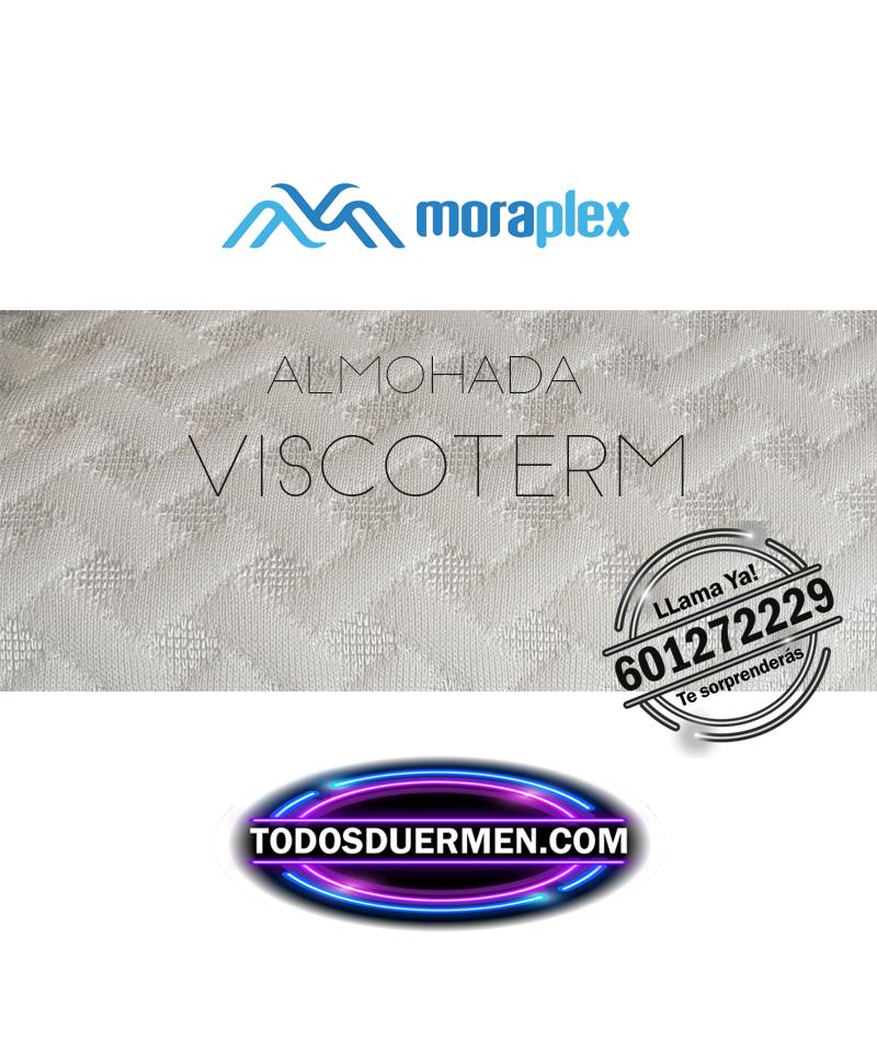 Almohada Viscoelástica Viscoterm efecto memoria suave Moraplex TodosDuermen.com
