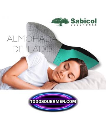 Almohada Viscoelástica para Dormir De Lado 2 Sensaciones Sabicol TodosDuermen.com