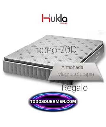 Colchón de calidad Viscografeno Tecno 70D Hukla TodosDuermen.com
