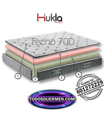 Ficha técnica Colchón Viscografeno Tecno 70D Hukla TodosDuermen.com