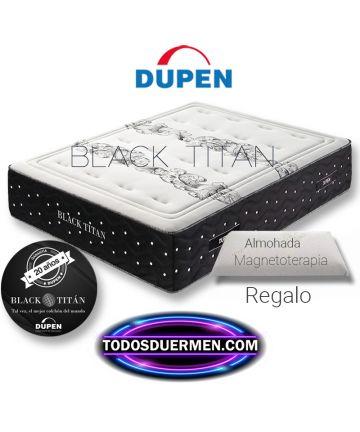 Colchón Black Titan ViscoGrafeno Micromuelles Dupen
