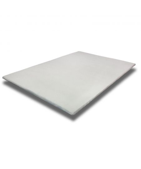 Viscoelastic mattress toper