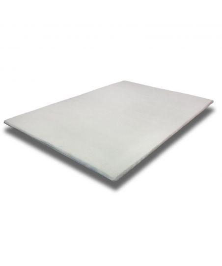 Viscoelastic mattress toper