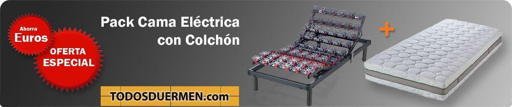 Pack Cama Eléctrica con Colchón