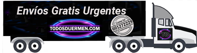 Colchones Envíos gratis TodosDuermen.com
